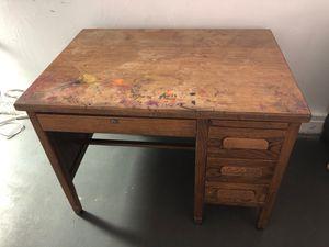Wood desk for Sale in Las Vegas, NV