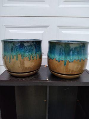 """New Planting Pot """"Dia Multi-Color Bella Ceramic 12in."""" $20ea$ 😷 for Sale in San Bernardino, CA"""