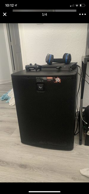 "Electro voice (EV) subwoofer 18"" for Sale in Miami, FL"