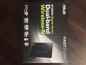 Asus Dual Band Wireless Router for Sale in Sunnyvale, CA