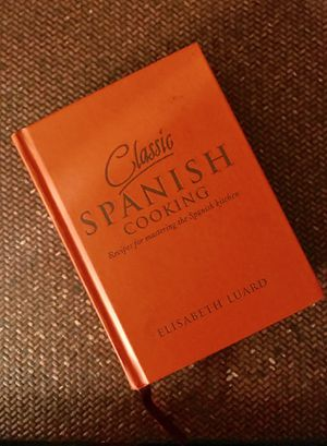 Classic Spanish Cooking: Recipes by Luard, Elisabeth Hardcover for Sale in Chicago, IL