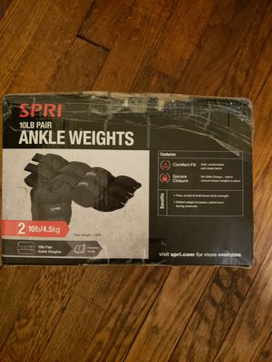 Spri 10lb ankle weights for Sale in Kingsport, TN