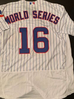 CUBS WORLD SERIES JERSEY for Sale in Oswego,  IL
