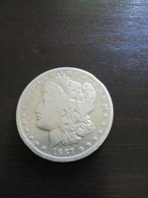 1887 O Morgan Silver Dollar for Sale in Yakima, WA