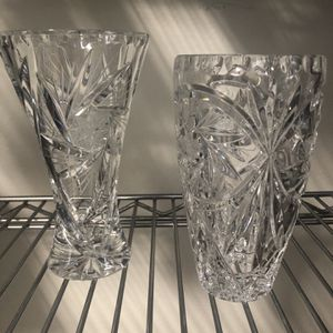 Cut Crystal Vases for Sale in Newport Beach, CA