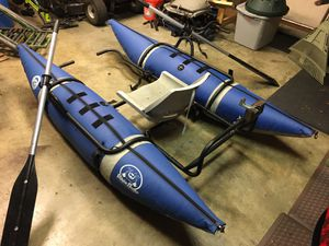 Waterskeeter pontoon boat for Sale in Woodinville, WA