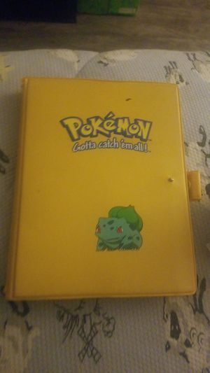 Generation 1 2 3 pokemon book and cards. for Sale in Oxon Hill, MD