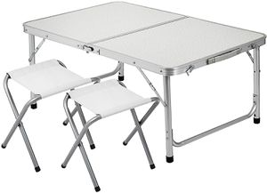 Folding Picnic Table with 2 Chairs for Sale in Rancho Cucamonga, CA
