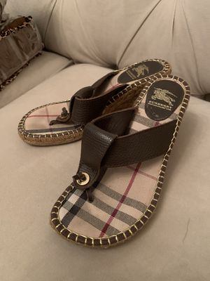 Women's Burberry sandals for Sale in Newton, MA
