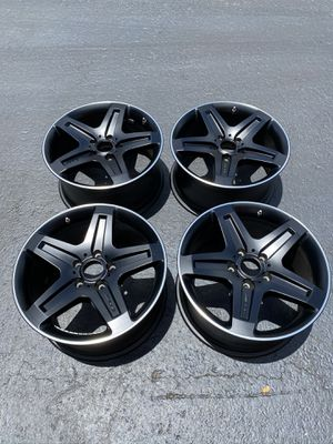 "19"" MERCEDES G550 black AMG wheels OEM factory rims G500 G wagon for Sale in Fort Lauderdale, FL"