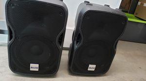 Alto 2 way speakers 10in for Sale in Nashville, TN