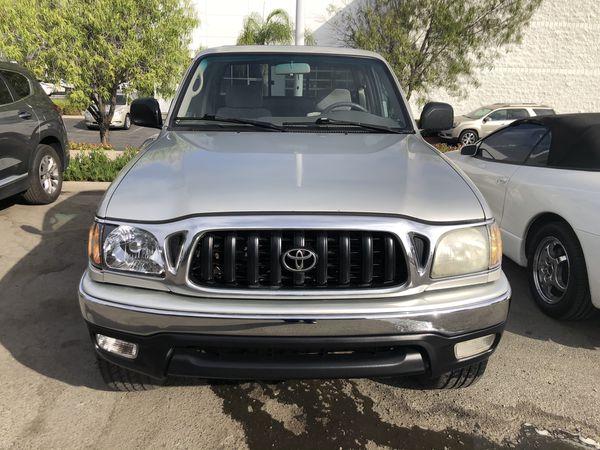 2001 Toyota Tacoma Access Cab