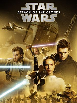 Star Wars: Attack of the Clones HD Digital Movie Code for Sale in Fort Worth, TX