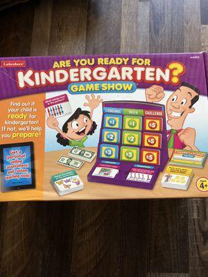 Lakeshore kindergarten game show for Sale in Sacramento, CA