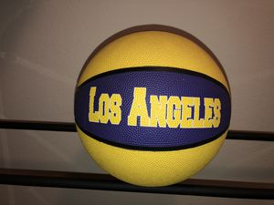 Los Angeles Lakers Basketball for Sale in Orlando, FL