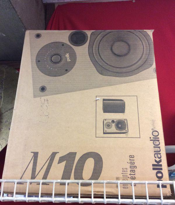 Polk audio M10 Studio speakers