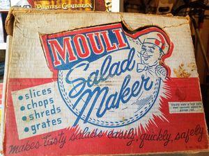 Vintage Mouli Salad Maker. Like June's Online Consignment Shop on Facebook for Sale in Neenah, WI