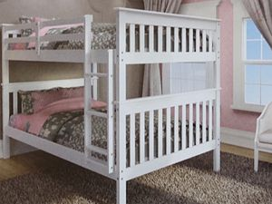 Full over full bunk bed for Sale in Fort Worth, TX