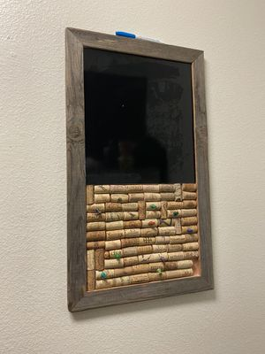Wine Cork Chalkboard for Sale in Franklin, TN