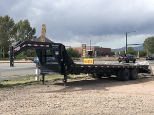 34' PJ Gooseneck flatbed trailer for Sale in Broomfield, CO