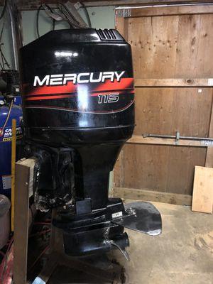 115 mercury outboard boat motor for Sale in Sedro-Woolley, WA