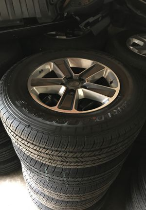 BRAND NEW JEEP WRANGLER WHEELS AND TIRES for Sale in Egg Harbor City, NJ
