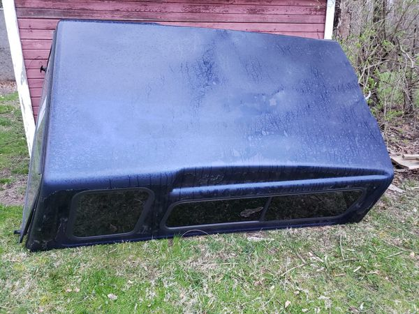 "Camper shell, long bed,for full size pickup truck, 68 1/2 "" wide by 100"" long $50"