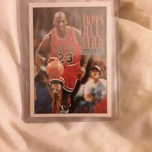 1993 Topps Gold Michael Jordan for Sale in Aberdeen, WA