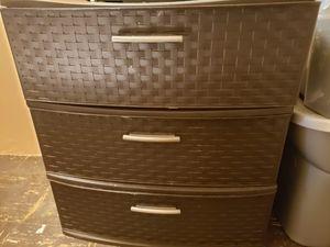 Plastic drawer bin for Sale in Taunton, MA
