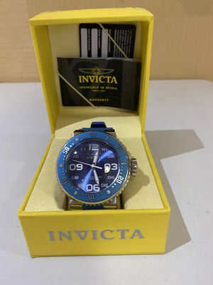 Blue Large Face INVICTA Men's Watch for Sale in Fort Lauderdale, FL