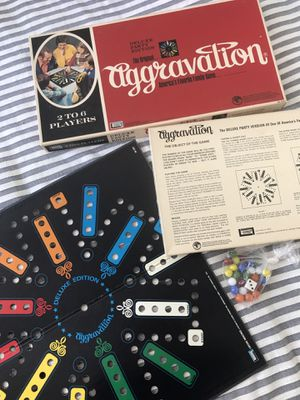 Aggravation board game 1972 edition for Sale in Denver, CO