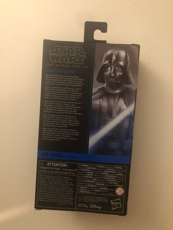 Star Wars The Black Series Darth Vader Toy 6-Inch-Scale The Empire Strikes Back Collectible Action Figure