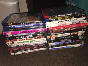 23 Great DVDs !! Some blue ray others normal DVDs all for 20$! for Sale in North Versailles, PA