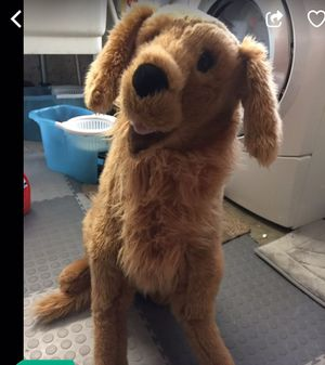 Melissa & Doug Giant Golden Retriever - Lifelike Stuffed Animal Dog for Sale in San Leandro, CA