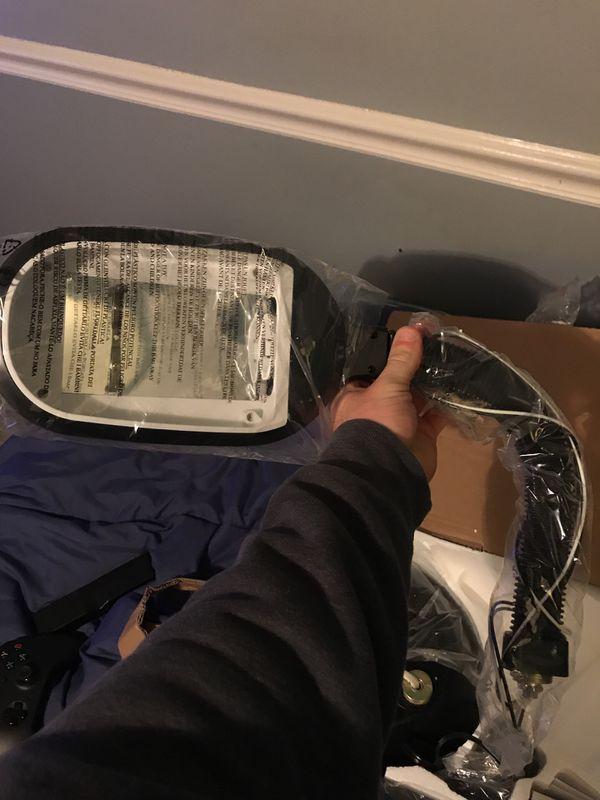 Black bendable neck floor lamp