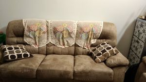 Recliner Microfiber Cloth Sofa and Love Seat for Sale in Issaquah, WA