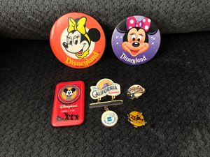 6 Walt Disney pins for Sale in Hesperia, CA