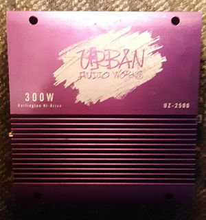 Urban Audio Works Amp for Sale in Somerset, PA