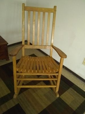 Wooden rocking chair for Sale in Alexandria, VA