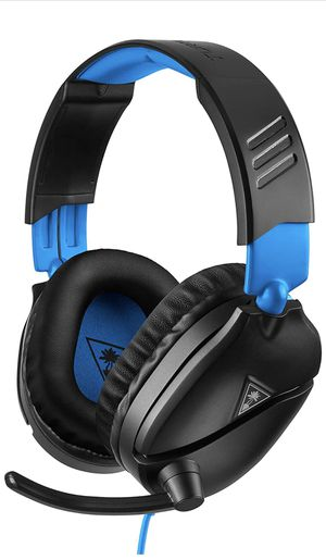 Turtle Beach Recon 70 Gaming Headset for PlayStation 4 Pro, PlayStation 4, Xbox One, Nintendo Switch, PC, and Mobile - PlayStation 4 for Sale in Chicago, IL
