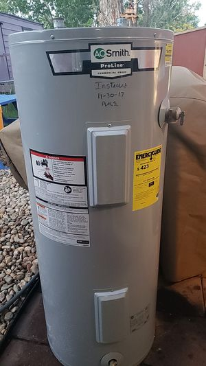 AO smith 40 gallon electric water heater. for Sale in Arvada, CO