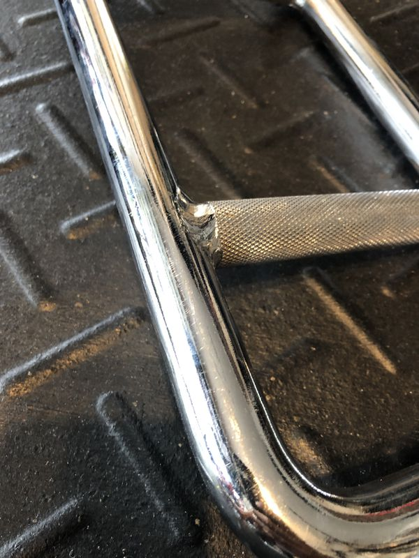 Titan Olympic tricep hammer curl barbel