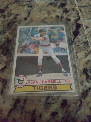 1979 Topps Alan Trammell Baseball Card for Sale in Lutz, FL