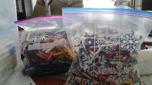 CRAYONS -1 Gallon sized Bags - 2 are offered $30.00 for both bags for Sale in Chesapeake, VA