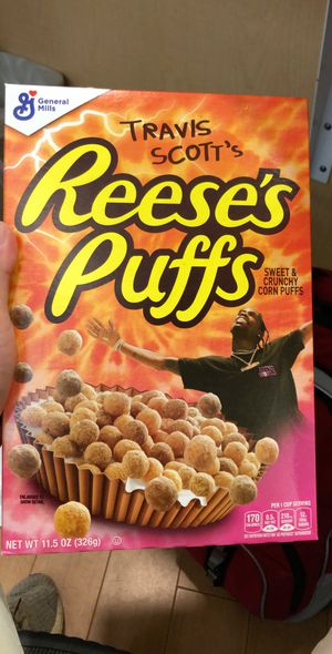 Travis Scott Reese Puffs Cereal for Sale in Bloomington, IL