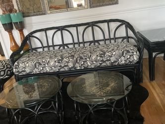 Six piece rattan sofa set for Sale in Florissant,  MO