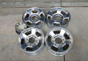 "17"" Dodge Ram 2500 3500 truck alloy wheels rims 8-lug 8x6.5 8x165.1 OEM stocks originals no tires for Sale in Commerce City, CO"