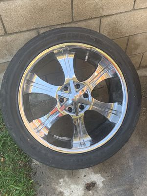 4 Rims with tires for Sale in Fountain Valley, CA