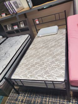 Twin Size Metal Bed Frame for Sale in Westminster,  CA