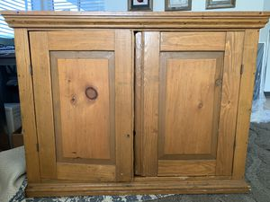 Buffet or Cabinet- Antique Mission Style for Sale in Montclair, CA
